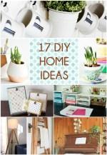 Great Ideas — 17 DIY Home Ideas!