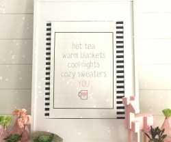 Hot Cocoa and Tea Printables and Tags!