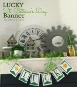 St. Patrick's Day LUCKY Banner and printables