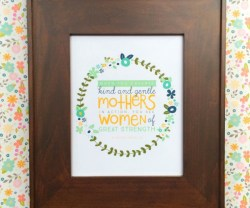 Free Mother's Day Woman of Strength Printable
