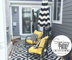 Spring Patio Entertaining Ideas!