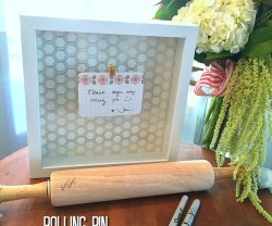 Rolling Pin Housewarming or Wedding Gift Idea
