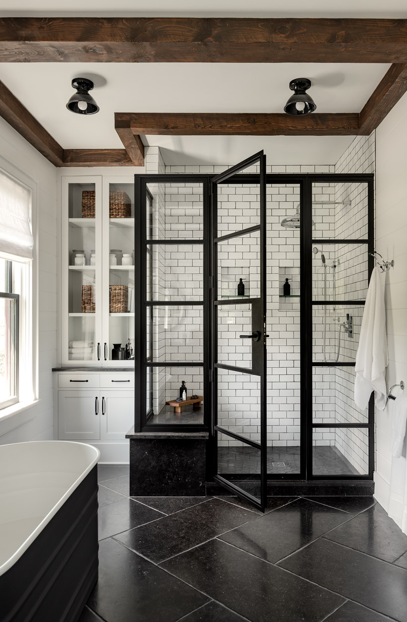 20 Modern Farmhouse And Cottage Bathroom Tile Ideas