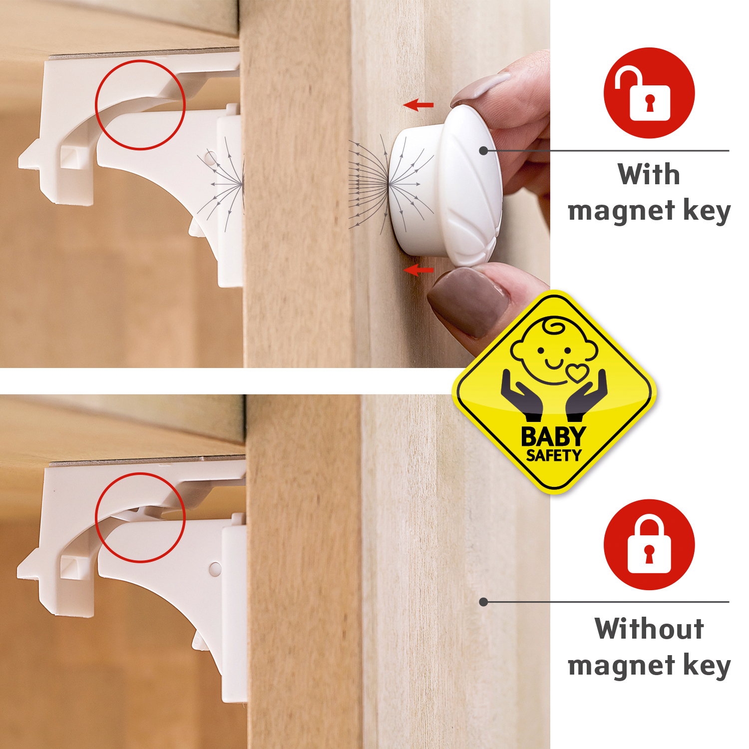 Kitchen Cabinet Magnetic Locks Cabinet Baby Locks Magnetic Review Home Decor