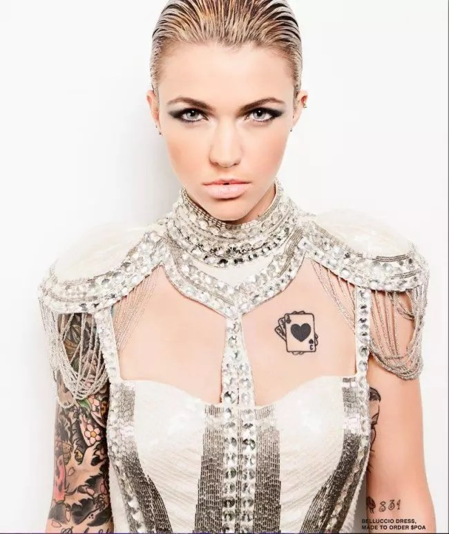 Inked Girl Wallpaper Stunning Ruby Rose Tattoos All You Ever Wanted To Know