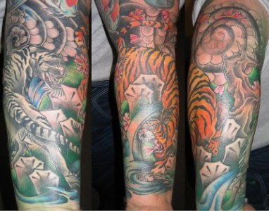 Tattoo Gallery: forearm sleeve tattoo ideas