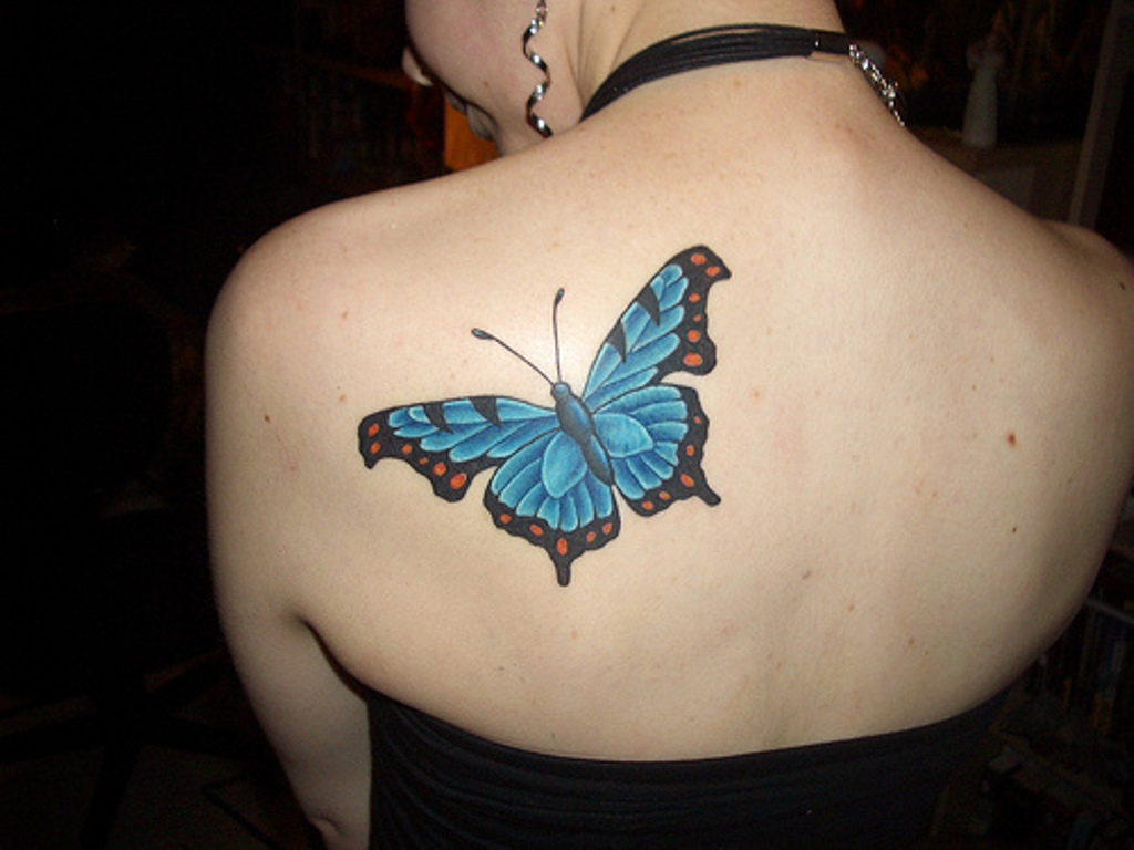 Butterfly Tattoos On Back Meaning Pictures Tumblr