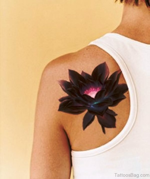 Lotus Tattoo Vorlagen 40 Superior Lotus Tattoos On Shoulder