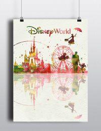 Disney Tattoo - Disney Princess Castle Cnderella Mickey ...