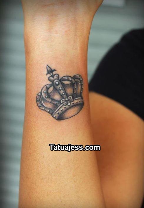 Black Crown Wallpaper Tatuajes De Coronas 187 Ideas Y Fotograf 237 As