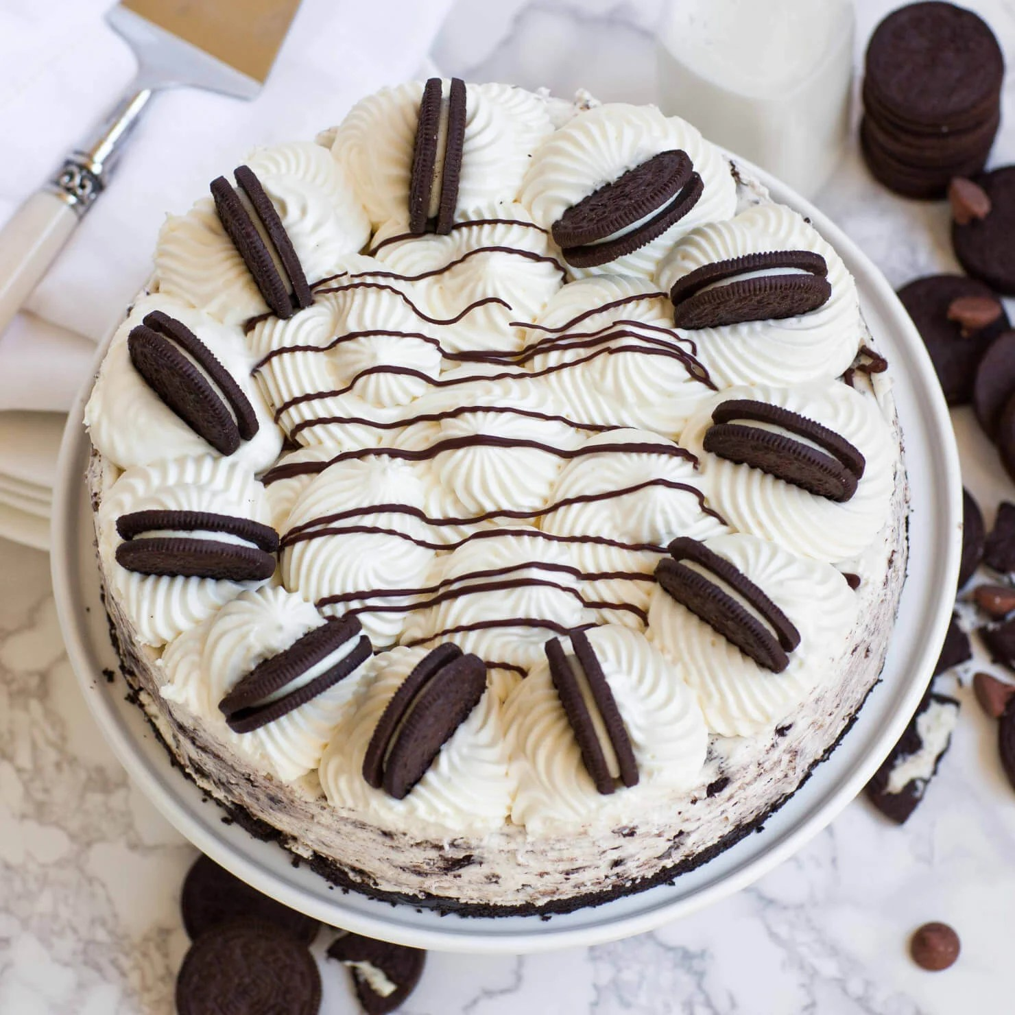 No Bake Oreo Kuchen No Bake Oreo Cheesecake