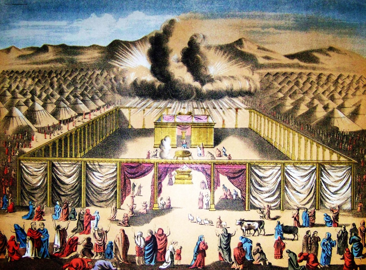 The Tabernacle Of Moses Curtains The Seat Of The High Priest Ancient Paths