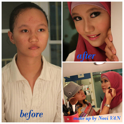 make up by novi van