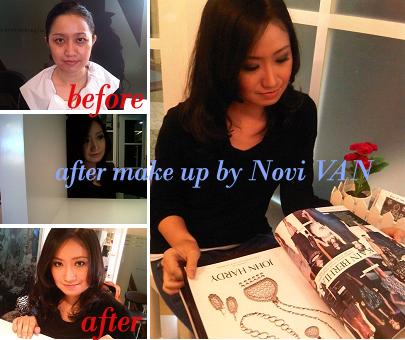 makeup novi van