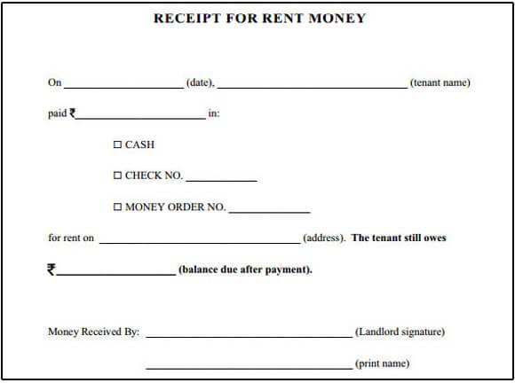 house rent receipt income tax india - Canasbergdorfbib
