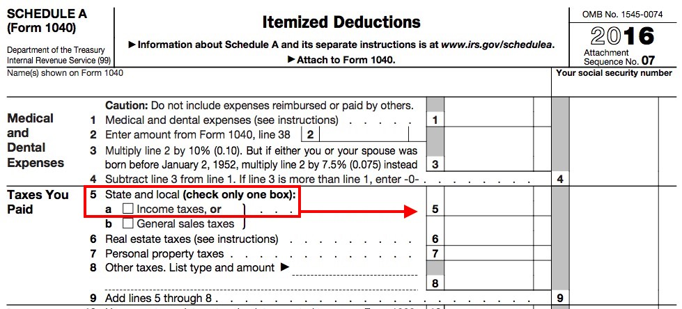 The 1040 The (8) New Income Categories \u2013 Taxes Are Easy - Schedule A Form