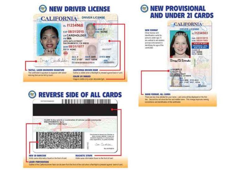 California Drivers License Template Torrent