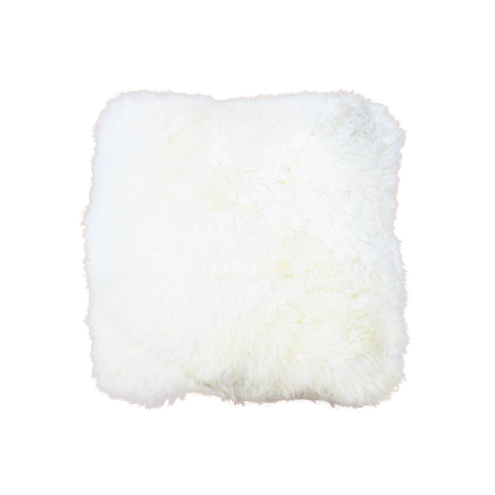 """New Zealand Longhair Sheepskin Pillow 18"""""""