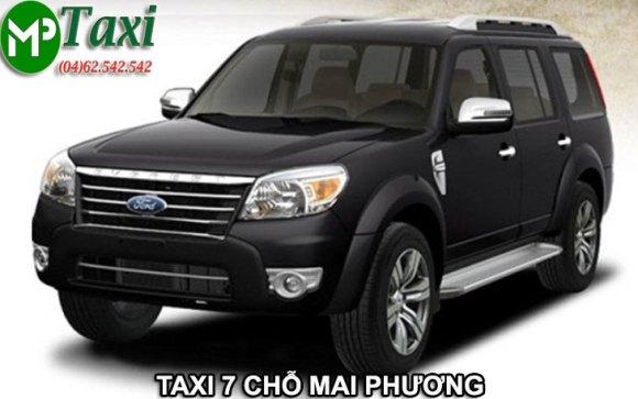 Taxi 7 chỗ giá rẻ nhất Mai Phương