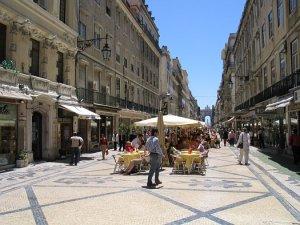 Rua Augusta, Lisboa, Portugal
