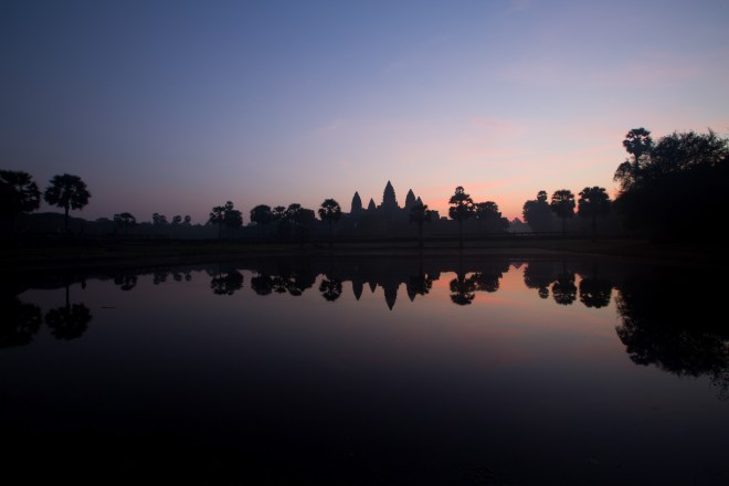 AngkorWatSunriseReflection