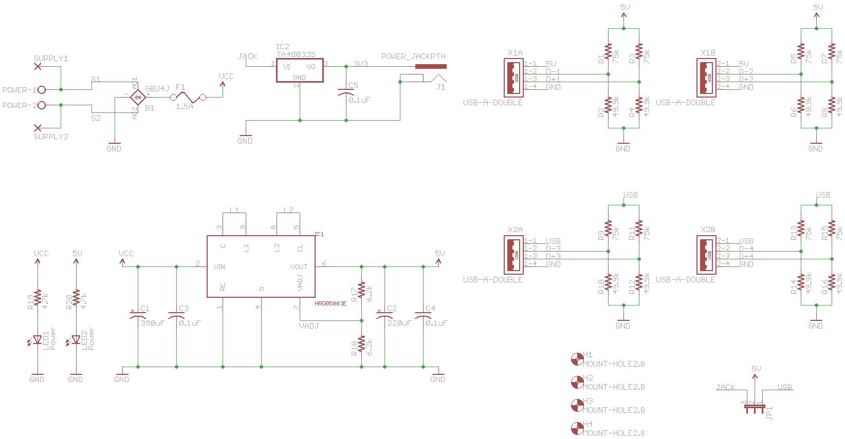 power module v1.0 schematic