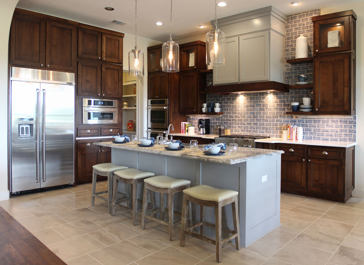 Mixing Kitchen Cabinet Colors Can My Kitchen Cabinets Be Different From The Rest Of My