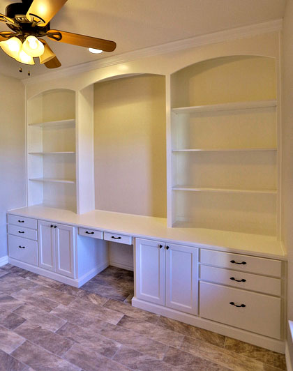 Mahogany Maple Kitchen Cabinets White Built-in Bookshelves With Desk - Taylorcraft Cabinet
