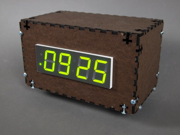CTA bus tracking clock prototype