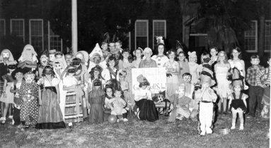 Halloween Circa 1950s