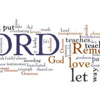 Shaped By The Word - Sermon on Psalm 25.1-10