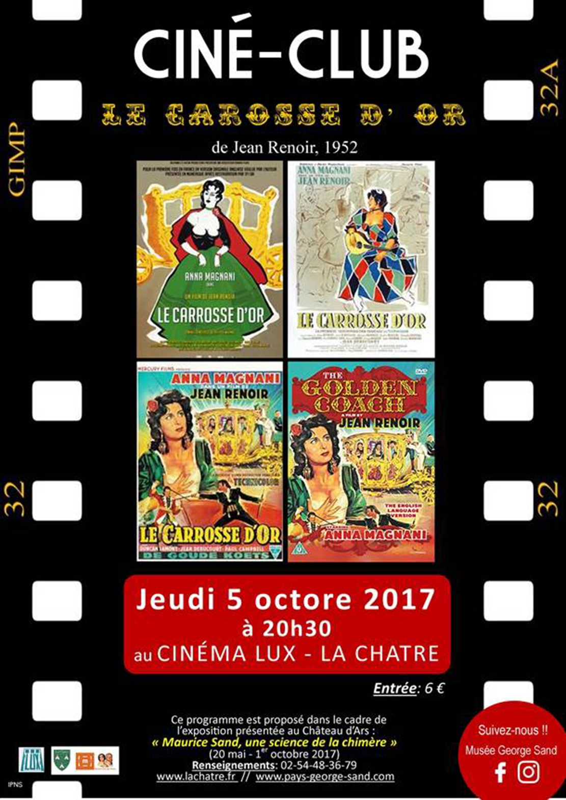 Cinema La Chatre Cine Club à La Chatre Tazon