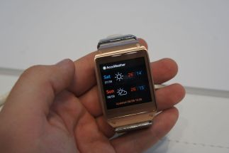 Galaxy Gear Wetter