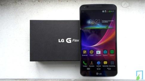 LG G Flex Unboxing