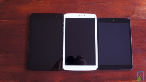 LG G Pad 8.3 vs. iPad mini retina