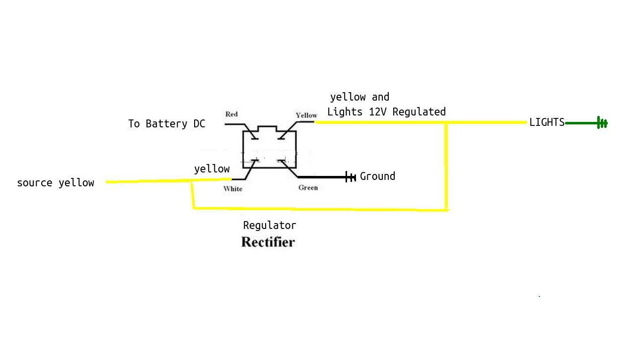 4 wire atv voltage regulator wiring diagram free picture