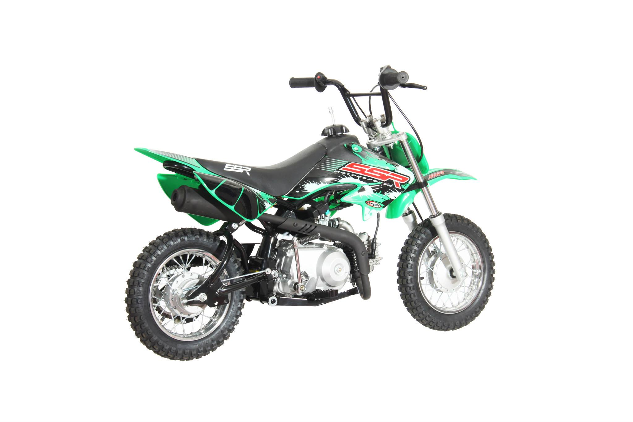 honda crf50 pit bike green