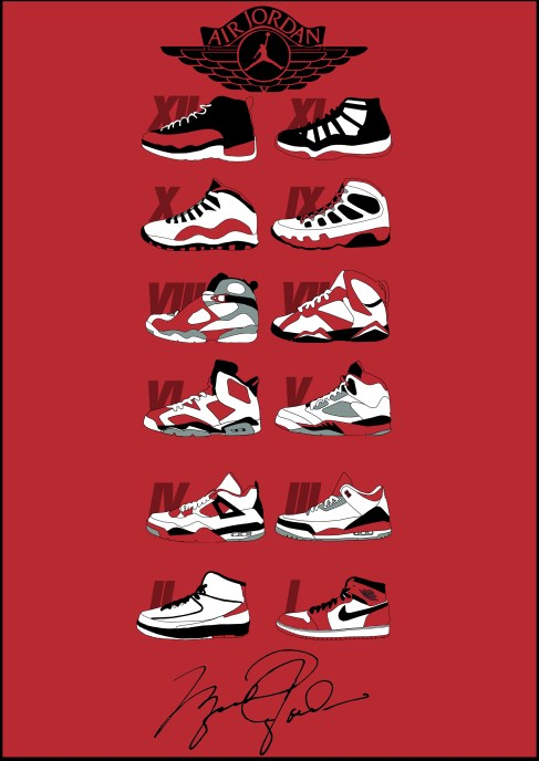 Nike Wallpaper 3d History Of Nike Air Jordan S Booklet Tboyr