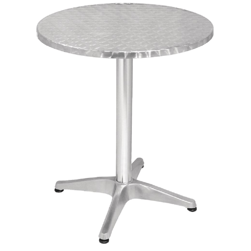 Table Bistrot Inox Table De Bistro Ronde Carrée Ou Rectangulaire