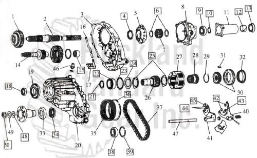 241 Transfer Case Diagram Electronic Schematics collections