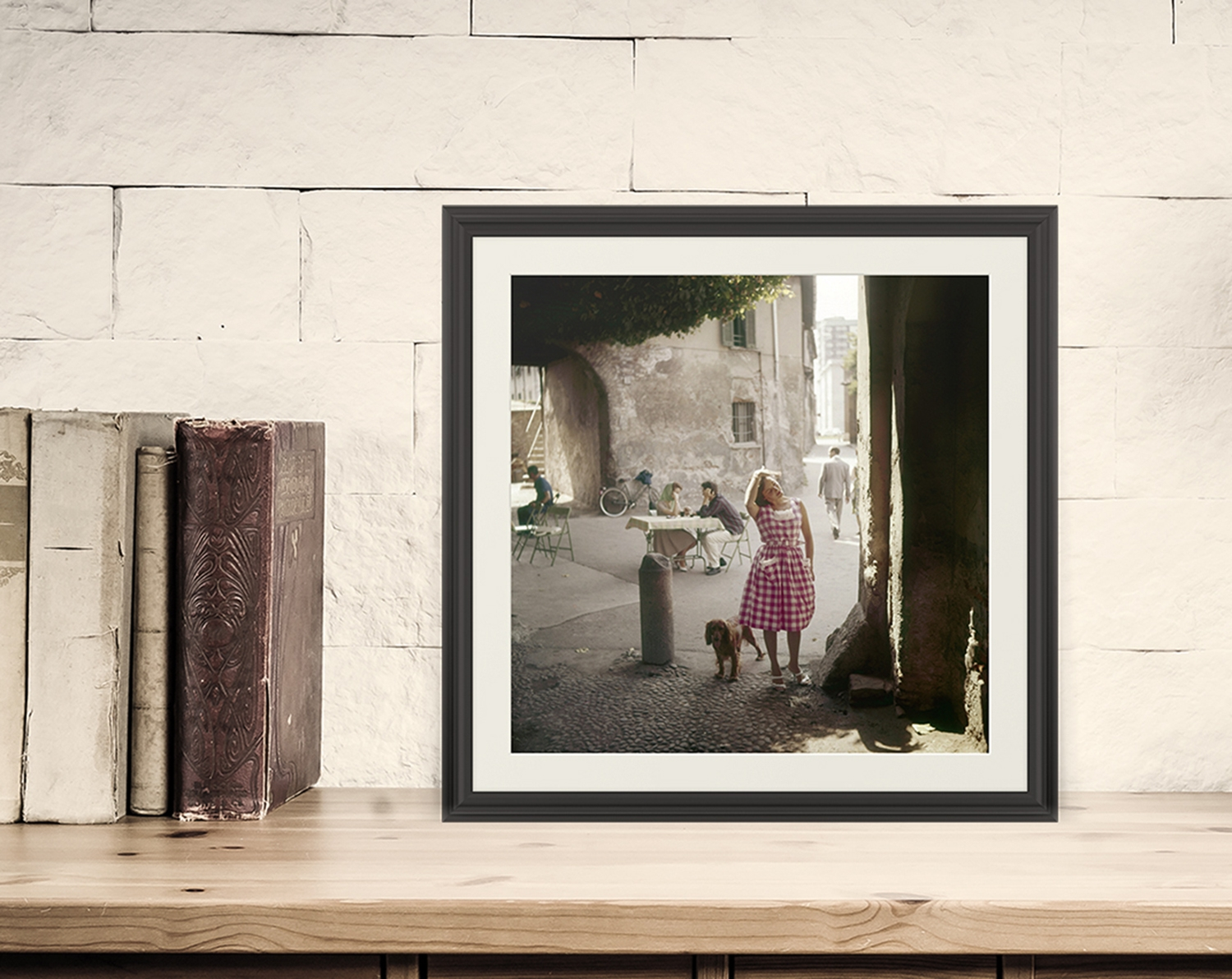 Hotel Art Navigli Photographic Print Of A View Of The Navigli In The Fifties