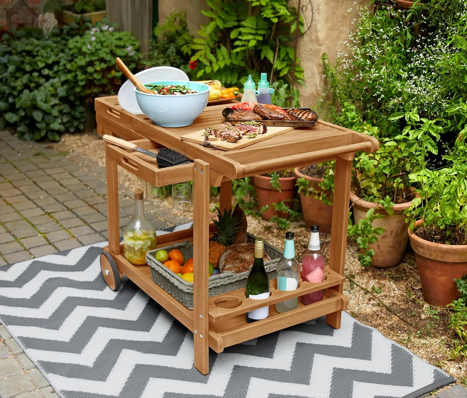 Tchibo Barbecue Trolley Moebelscout