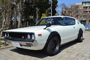 クラシックカー 人間 日本車 国産、8