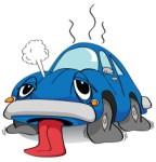 車のエンジンがオーバーヒート!症状や対策方法、修理は?
