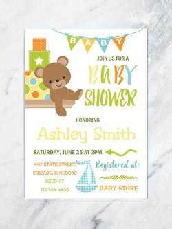 Small Of Boy Baby Shower Invitations