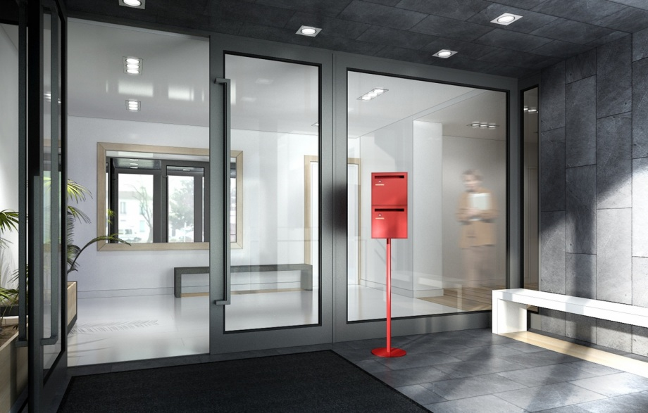 Mobilier Minimaliste Hall D'immeuble De Bureau (2011) - T Design Architecture