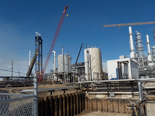 Roof Jet Hydrocracker Installed At Calumet Montana Refinery In