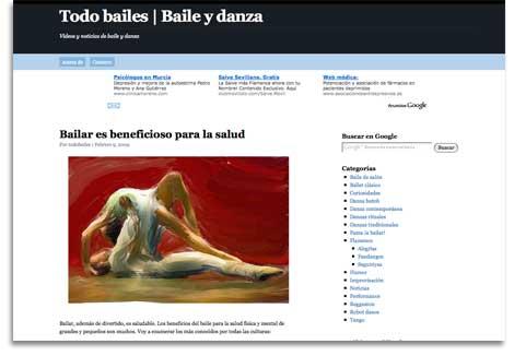 Todo bailes, blog de danza y bailes