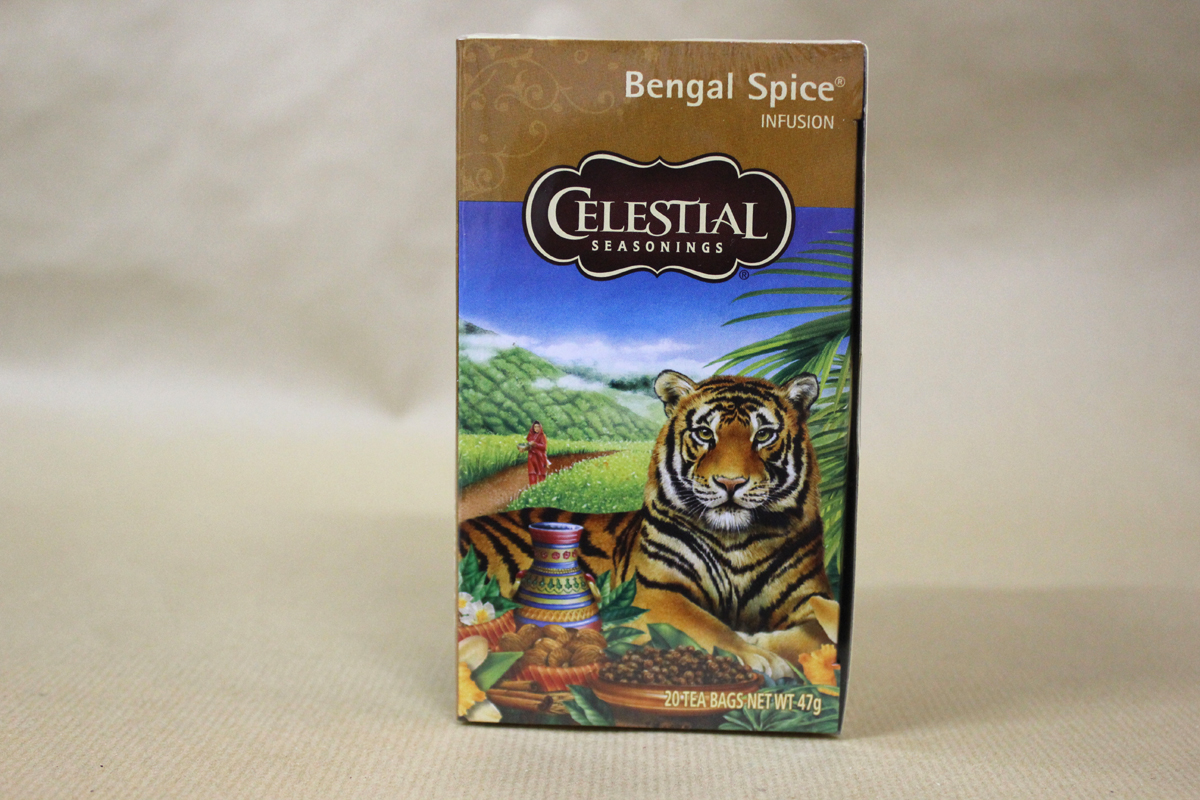 Teekanne 5l Porzellan Celestial Seasonings Bengal Spice - Tea-and-records.de