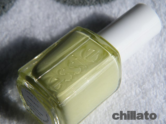 Chillato Swatch - Essie Peach Side Babe Collection Swatches - Tea & Nail Polish